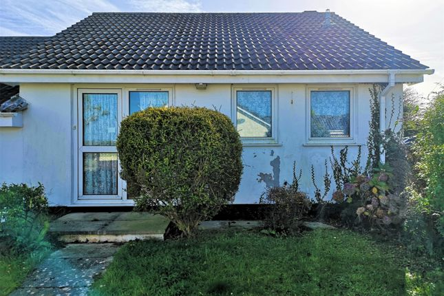 Thumbnail Semi-detached bungalow for sale in Polwithen Drive, Carbis Bay, St. Ives
