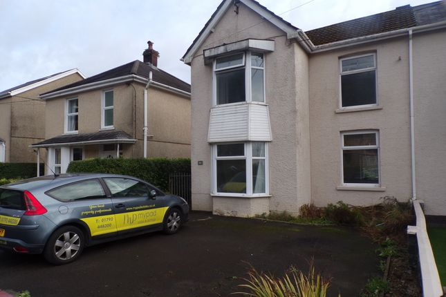 Thumbnail Semi-detached house to rent in Brecon Road, Pontardawe
