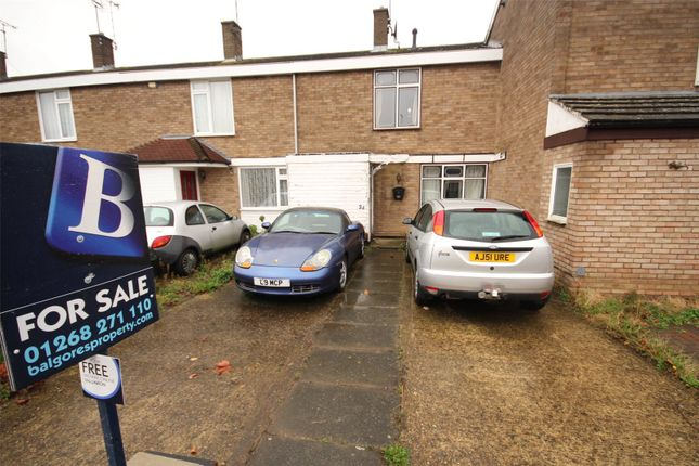 2 bed terraced house for sale in Little Lullaway, Basildon, Essex