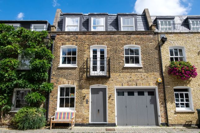 Thumbnail Mews house for sale in Pindock Mews, Little Venice, London
