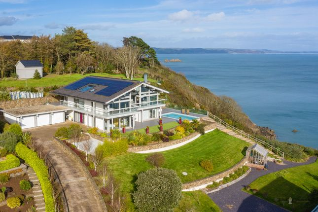Thumbnail Detached house for sale in Kingswood, North Cliffe, Tenby, Pembrokeshire