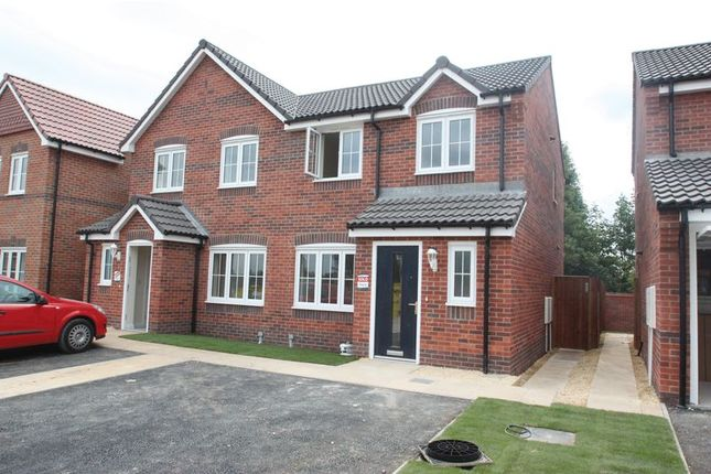 Thumbnail Semi-detached house to rent in Malthouse Mews, Pontefract