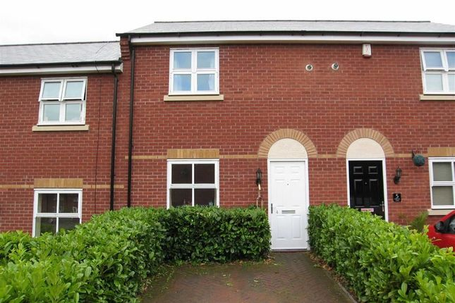 Thumbnail Terraced house to rent in Osborne Close, Off New Park Close, Shrewsbury