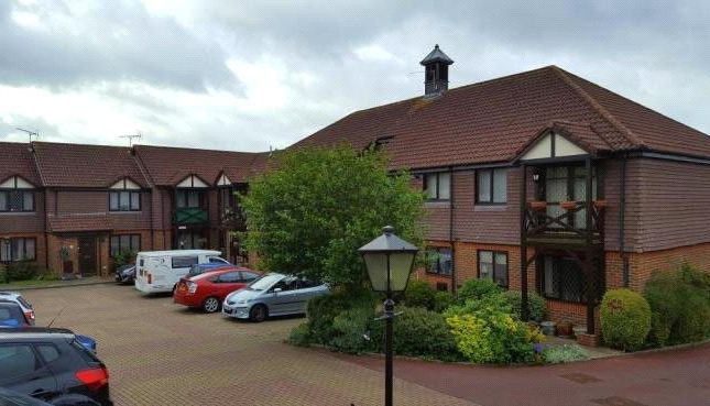 Thumbnail Flat for sale in Fromow Gardens, Windlesham, Surrey