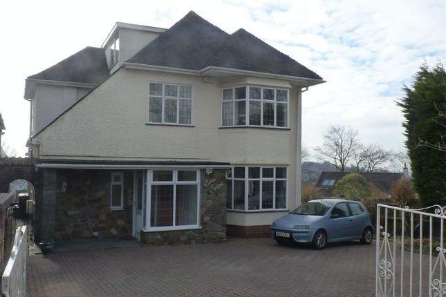 Thumbnail Detached house for sale in Ridgeway, Newport