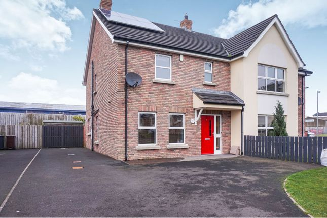 Thumbnail Semi-detached house for sale in Loguestown Green, Coleraine