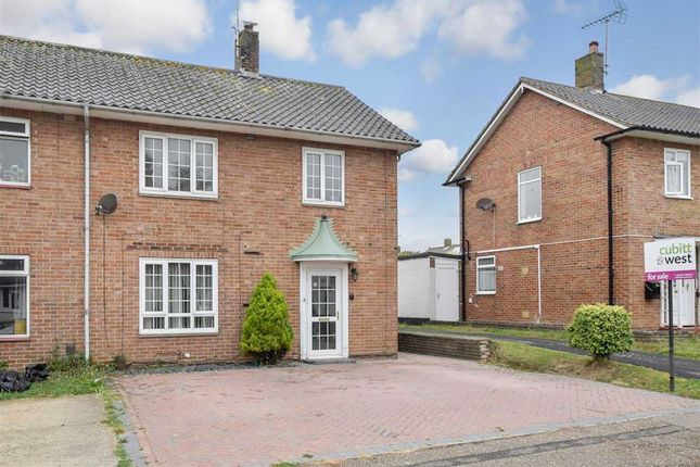 Thumbnail 3 bed end terrace house for sale in The Avenue, Goring-By-Sea, Worthing, West Sussex