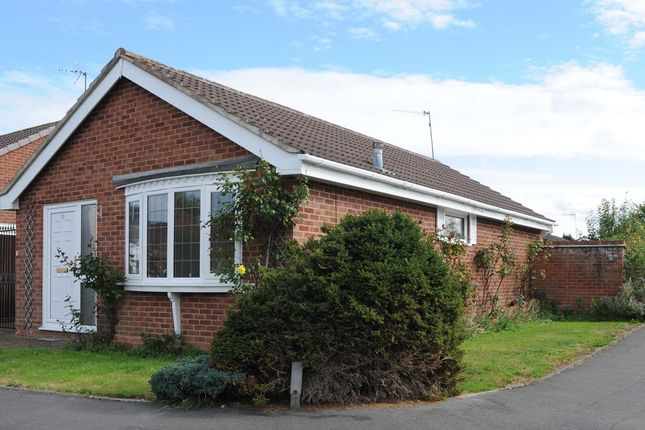 Thumbnail Detached bungalow for sale in Illshaw Close, Winyates Green, Redditch