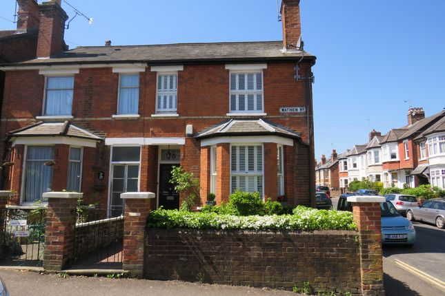End terrace house for sale in Wathen Road, Dorking