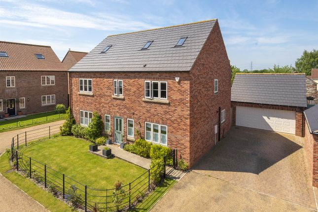 Thumbnail Detached house for sale in Swallow House, Main Street, West Haddlesey, Selby