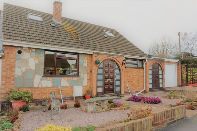 Thumbnail Bungalow for sale in Silverdale Drive, Leicester