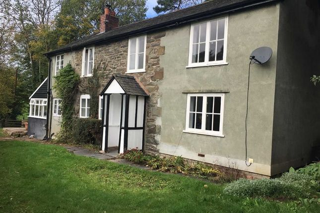 Thumbnail Detached house to rent in Bwlch-Y-Cibau, Llanfyllin