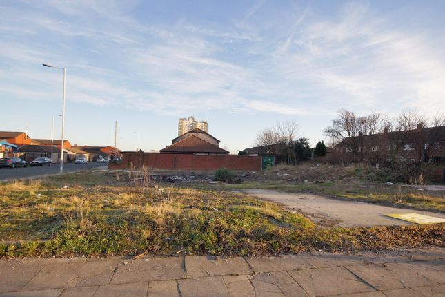 Thumbnail Land for sale in Livingstone Street, Birkenhead