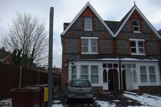 Thumbnail Semi-detached house to rent in Christchurch Road, Reading