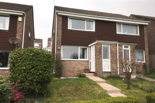 Thumbnail Semi-detached house for sale in Hawthorn Avenue, Torpoint