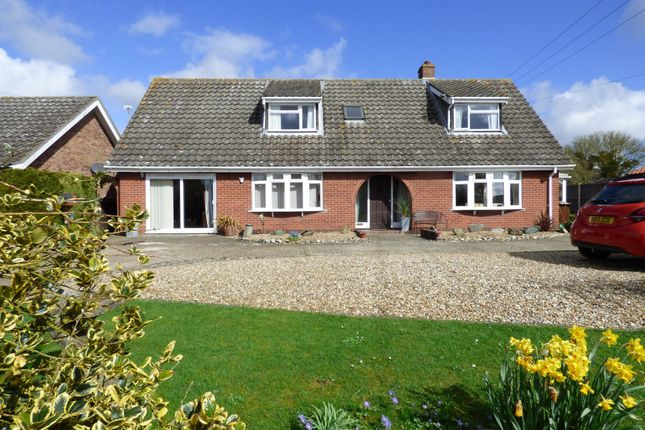 Thumbnail Detached house for sale in Wash Lane, Wacton, Norwich