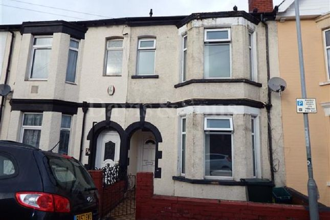 Thumbnail Terraced house to rent in Grafton Road, Newport