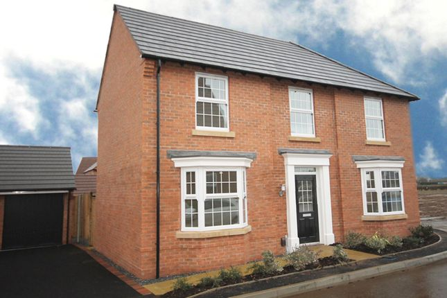 "Thumbnail Detached house for sale in ""Eden"" at Melton Road, Queniborough, Leicester"