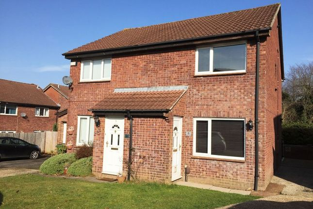 Semi-detached house to rent in Oldberg Gardens, Basingstoke