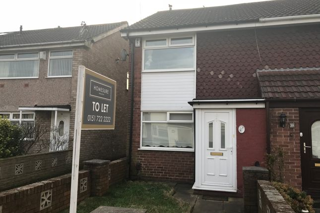 Thumbnail Town house to rent in Pauline Walk, Fazakerley, Liverpool