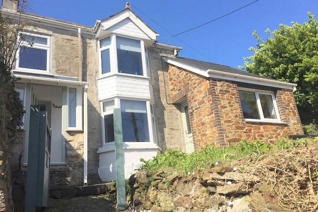 Thumbnail Semi-detached house for sale in Lower Bolenna Lane, Perranporth, Cornwall