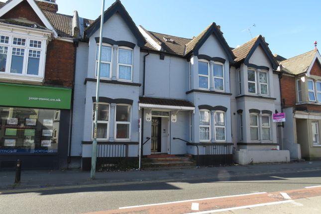 Thumbnail Flat to rent in Balmoral Road, Gillingham