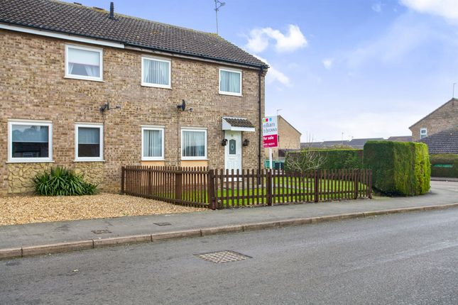 Thumbnail Semi-detached house for sale in Croft Park Road, Littleport, Ely
