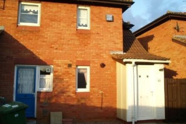 Thumbnail Flat to rent in Ploverly, Werrington, Peterborough