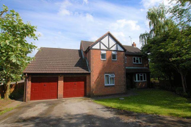 Thumbnail Detached house for sale in Glebe Close, Doveridge, Ashbourne