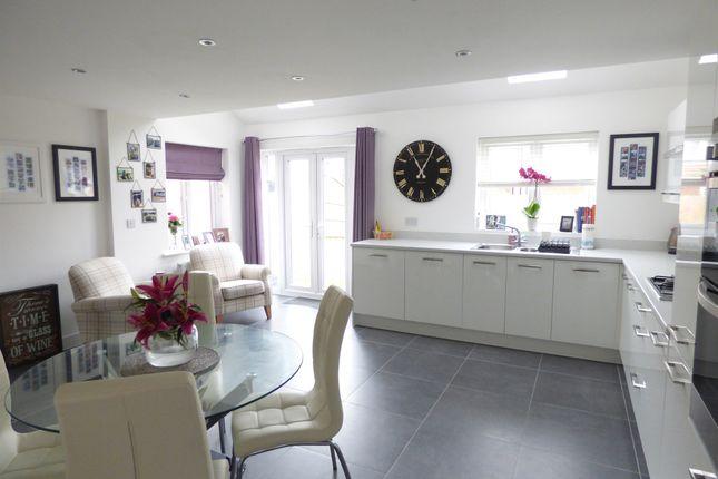 Thumbnail Detached house for sale in Kempton Drive, Barleythorpe, Oakham