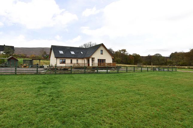 Thumbnail Detached house for sale in Blaich, Fort William