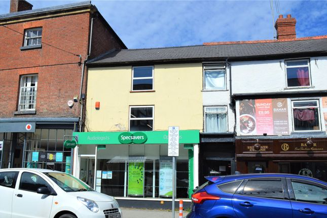 1 bed flat to rent in Broad Street, Newtown, Powys SY16