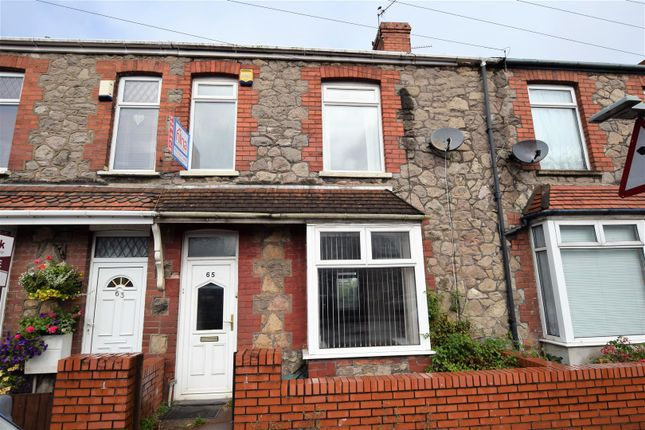 Thumbnail Terraced house for sale in Coldbrook Road East, Barry