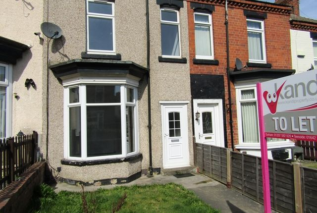 Thumbnail Terraced house to rent in Holmwood Grove, Darlington