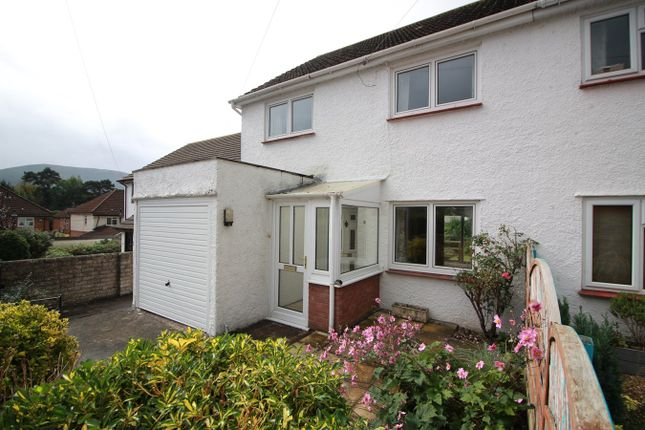Thumbnail Semi-detached house for sale in Springfield Road, Abergavenny