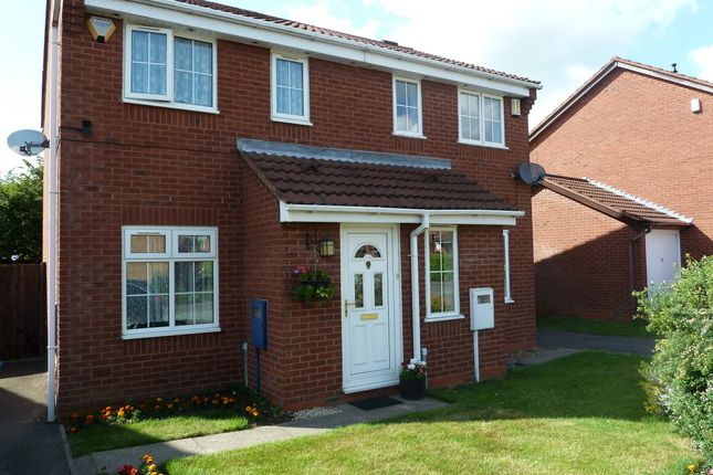 Thumbnail Semi-detached house for sale in Westmorland Close, Fazeley, Tamworth.