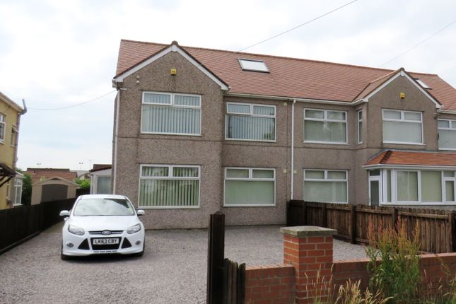 Thumbnail Semi-detached house for sale in Port Road East, Barry