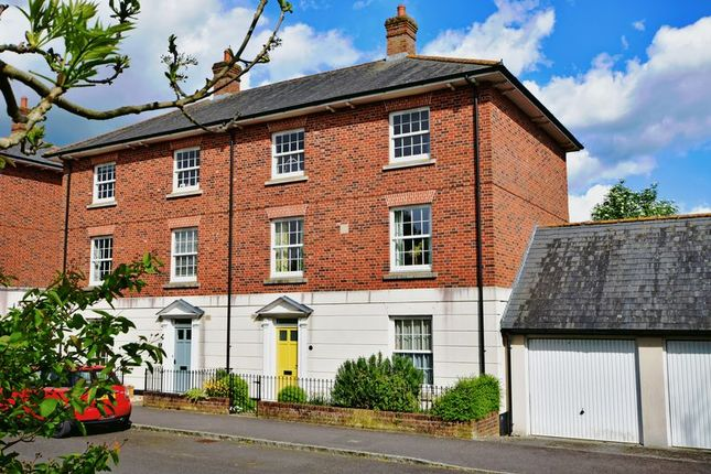 Thumbnail Semi-detached house for sale in School Drive, Sherborne