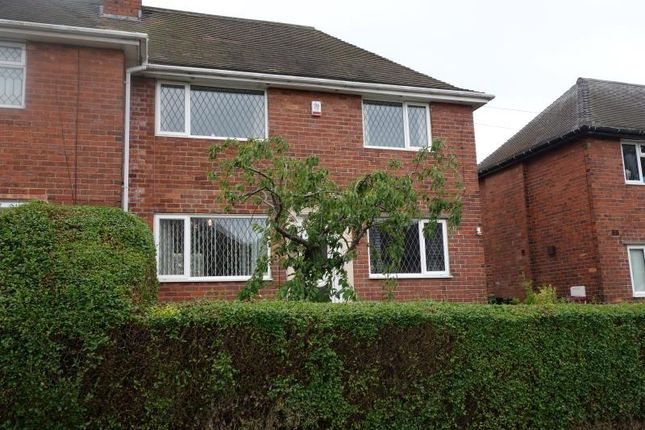 Thumbnail Semi-detached house to rent in Norwood Crescent, Killamarsh, Sheffield