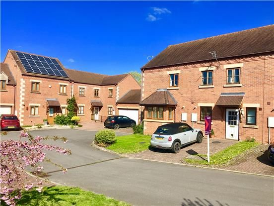 Thumbnail Terraced house for sale in Brensham Court, Bredon, Tewkesbury, Gloucestershire