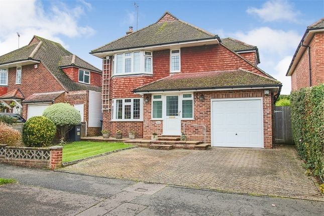 Thumbnail Detached house for sale in Blount Avenue, East Grinstead, West Sussex