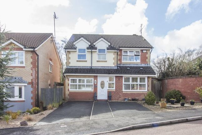 Thumbnail Detached house for sale in Birch Grove, Henllys, Cwmbran