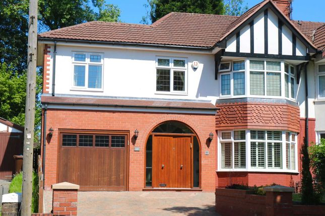 Thumbnail Semi-detached house for sale in Park Road, Prestwich, Manchester