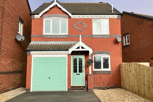 Thumbnail Detached house for sale in Andreas Drive, Muxton, Telford