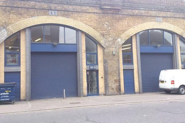 Thumbnail Light industrial to let in Arches 191 & 192, Hercules Road, London
