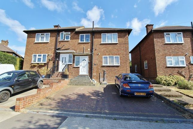 Thumbnail Semi-detached house to rent in Kingshill Avenue, Collier Row, Romford
