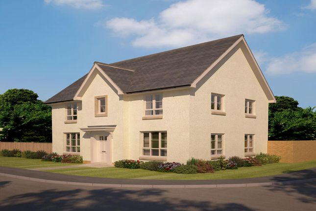 "Thumbnail Detached house for sale in ""Craigston"" at Abbey Road, Elderslie, Johnstone"