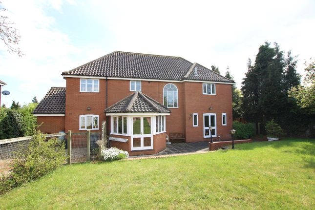 Thumbnail Detached house for sale in Hall Lane, Witnesham, Ipswich, Suffolk