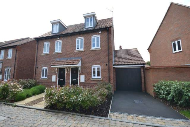 Thumbnail Semi-detached house to rent in Apple Down, Didcot, Oxfordshire
