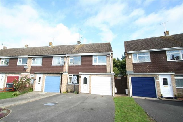 Thumbnail End terrace house to rent in Sandown Way, Newbury